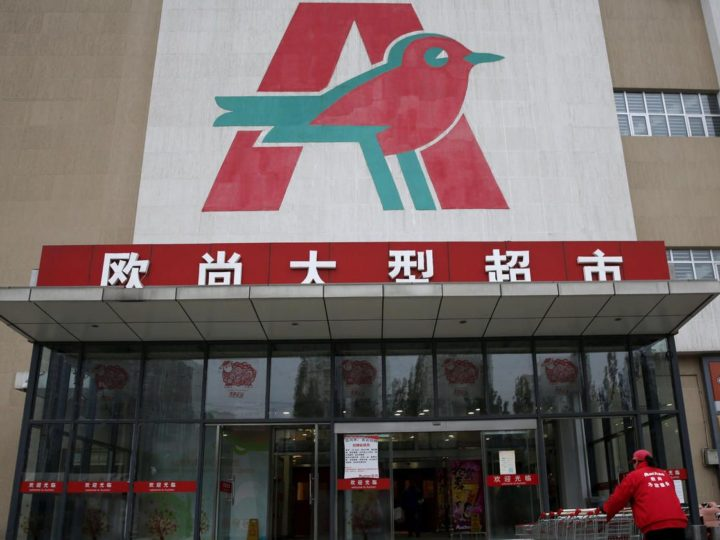 Grande distribution : Auchan plaque la Chine